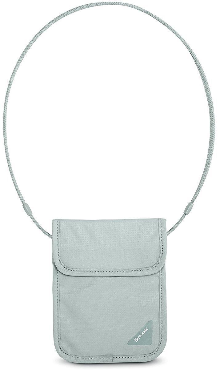 Нательный потайной кошелек Pacsafe Coversafe X75 (Neutral Grey)