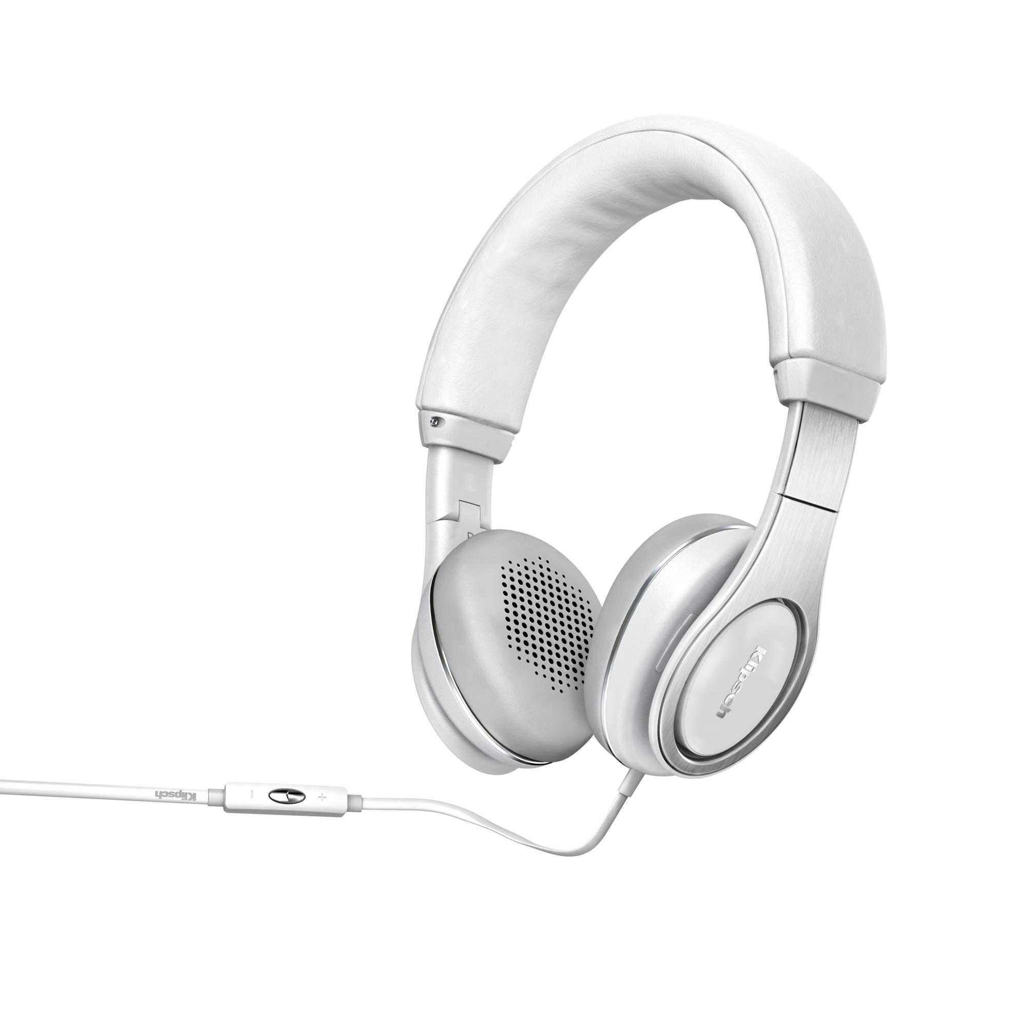 Klipsch Reference ON-EAR - накладные наушники с микрофоном (White)