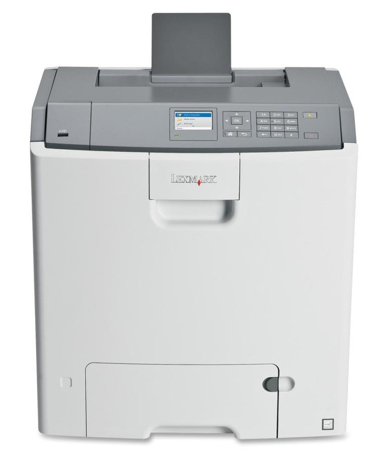 Lexmark C746dn (41G0070) - цветной лазерный принтер (White)