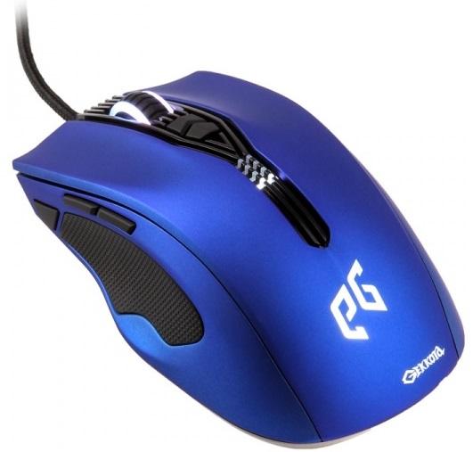 EpicGear Gekkota (EGMGK1-BLLW-AMSG) - игровая проводная мышь (Blue)