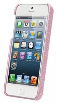 Vetti Craft Leather Snap Cover (IPO5LES1110107) - чехол для iPhone 5/5S/SE (Pink) от iCover
