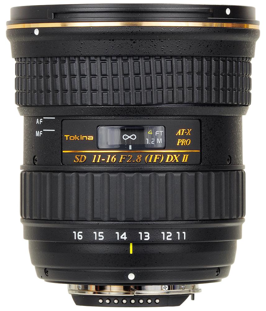 Tokina AT-X 116 AF 11-16mm f2.8 Pro DX II - объектив для фотоаппаратов Sony