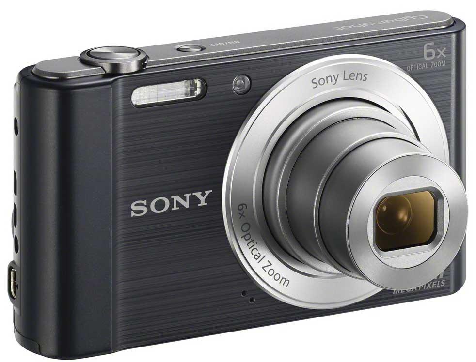 Sony Cyber-shot DSCW810B - фотоаппарат (Black)