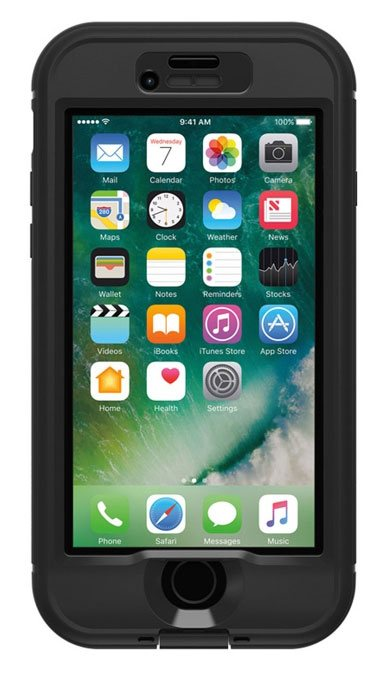 LifeProof Nuud - чехол для iPhone 7 Plus (Black)