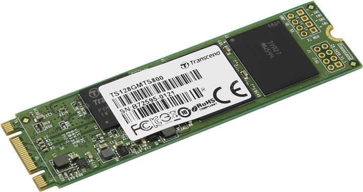Transcend MTS800 128 Gb (TS128GMTS800) - SSD-накопитель