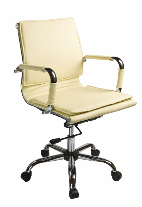Бюрократ CH-993-Low - кресло руководителя (Ivory)