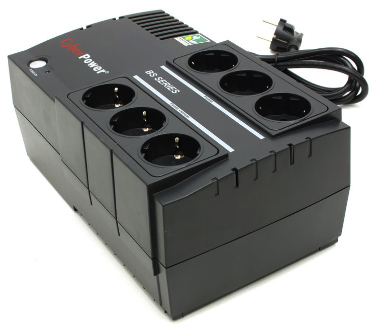 CyberPower BS450E - источник бесперебойного питания (Black)  BS450E