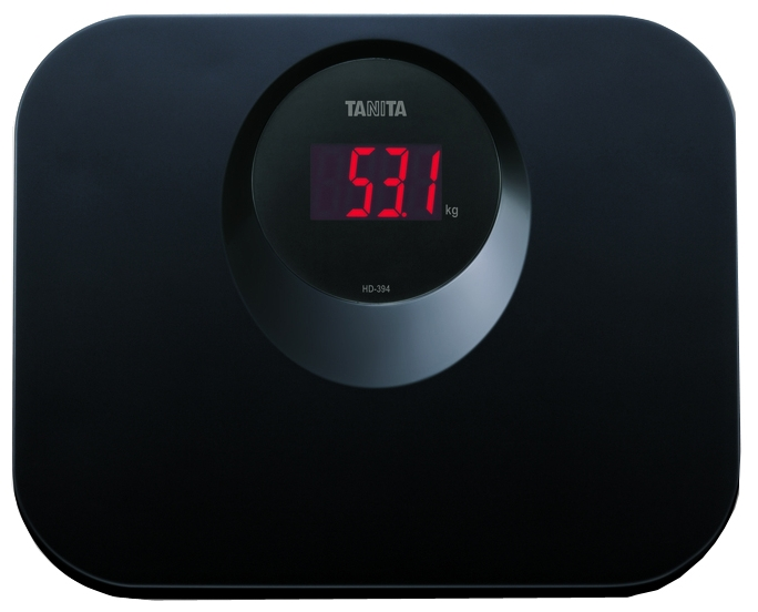 Весы бытовые электронные Tanita HD-394 - весы бытовые электронные (Black)