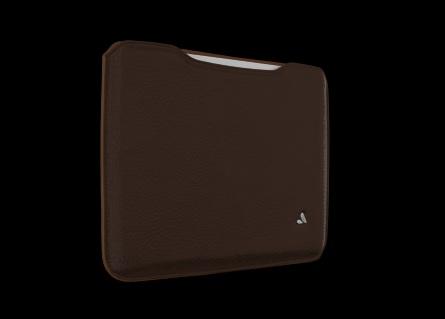 Vaja Premium Leather Sleeve - чехол для iPad 2/iPad 3/iPad 4 (Dark brown/Friar brown) от iCover