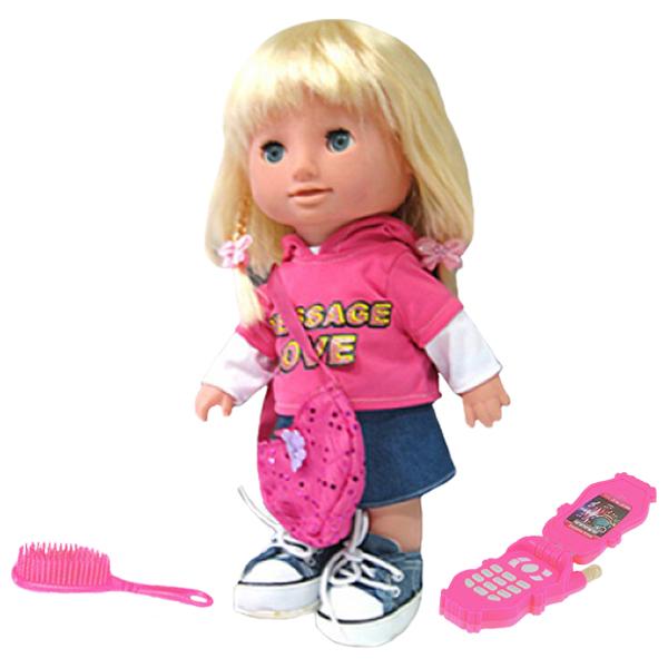 Zhorya Леля (Х75095) - интерактивная кукла (Pink)