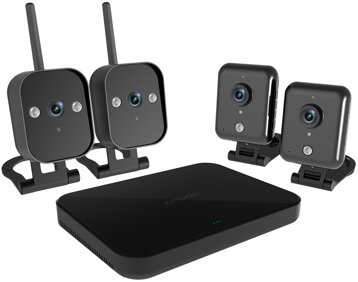 Zmodo Офис 2 (62199) - комплект видеонаблюдения (Black)