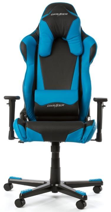 DXRacer Racing OH/RB1/NB - компьютерное игровое кресло (Blue)