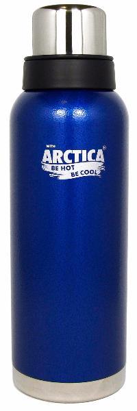 Арктика 1,2 л (106-1200) - термос с узким горлом американский дизайн (Синий)