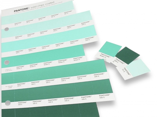 Pantone Solid Chips Coated & Uncoated (GP1503) - набор цветовых справочников
