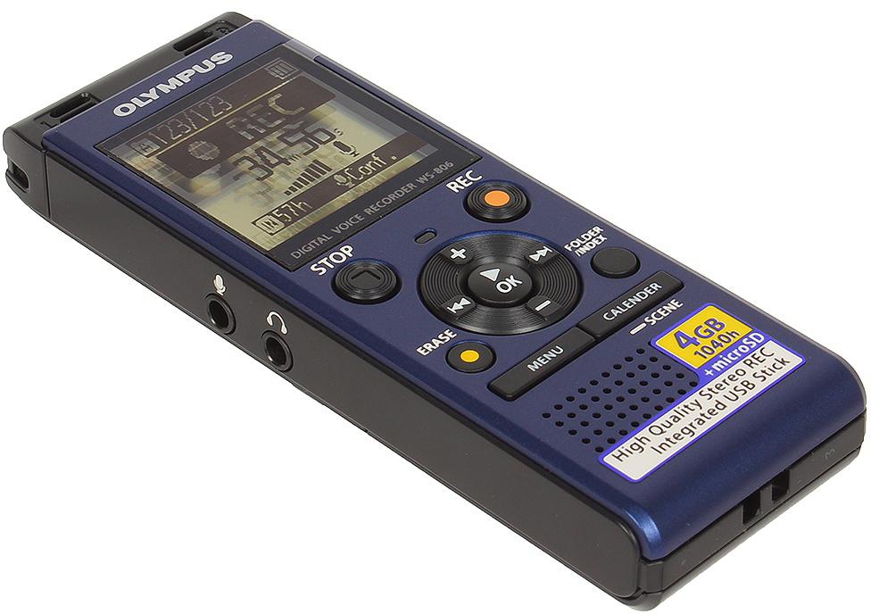 Olympus WS-806 - цифровой диктофон (Blue).