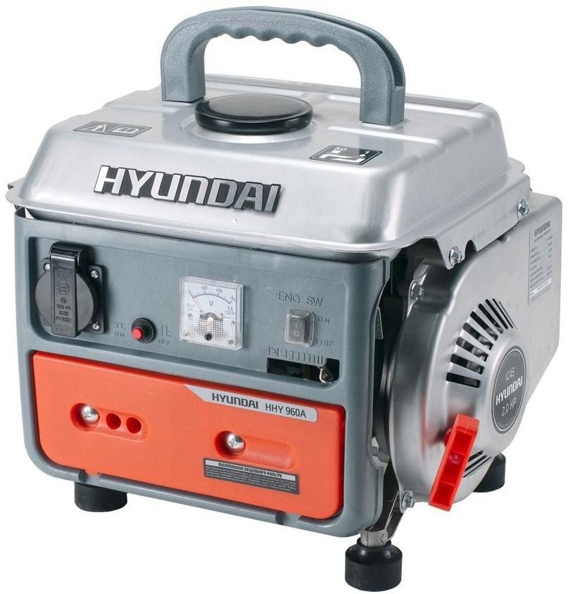 Hyundai HHY 960A - бензиновый генератор (Silver/Orange)