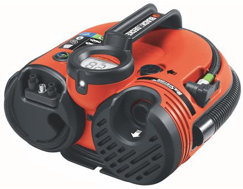 Black+Decker ASI500 - компрессор автомобильный (Red)