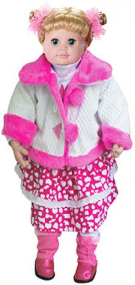 TongDe Настенька 60 см (В71864) - интерактивная кукла (Pink)