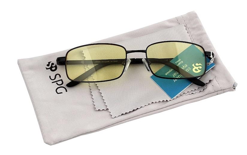 SP Glasses Comfort (AF024) - релаксационные компьютерные очки (чёрные)