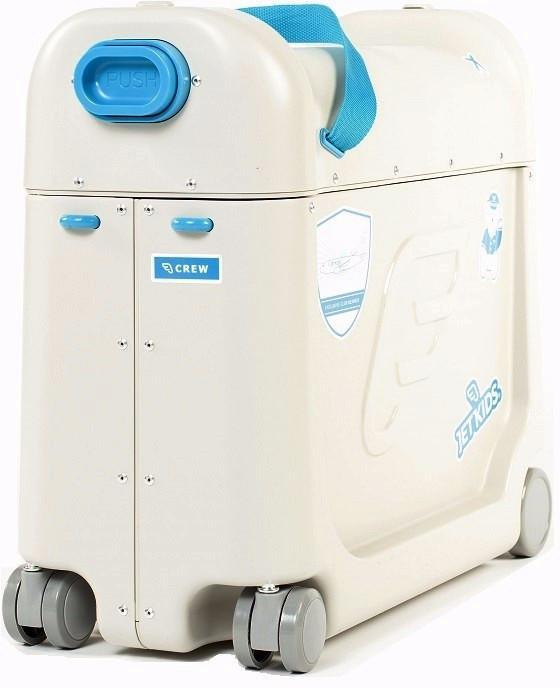 Детский чемодан-кроватка для путешествий JetKids BedBox (Blue)
