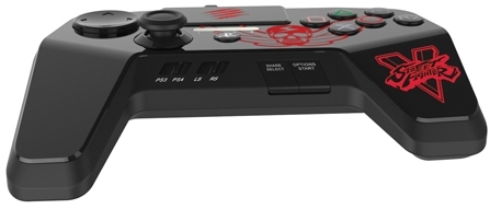 Mad Catz FightPad Pro Street Fighter V Edition (SFV89250BSA2/04/1) - геймпад для PS3/PS4 (Black)
