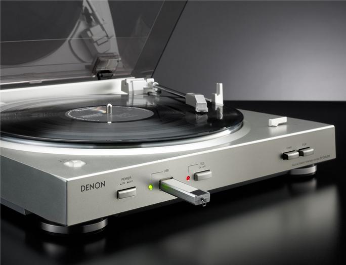 Denon DP-200 USB Prem Silver
