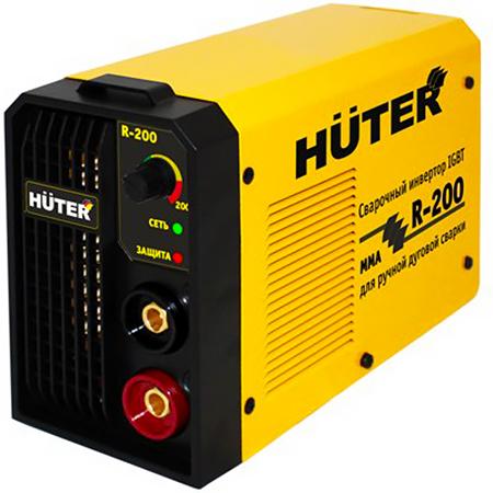 Huter R-200 - инверторный сварочный аппарат (Yellow)