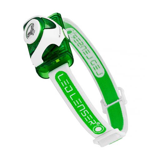 Led Lenser Seo3 (6103) – светодиодный налобный фонарик (Green)
