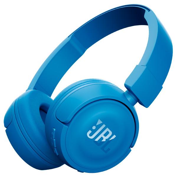 JBL T450BT - беспроводные наушники с микрофоном (Blue)