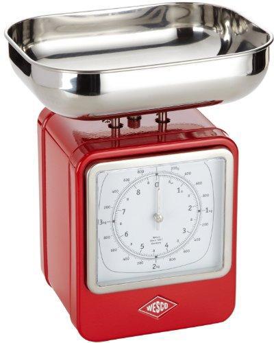 Wesco 322204-02 - кухонные весы (Red)