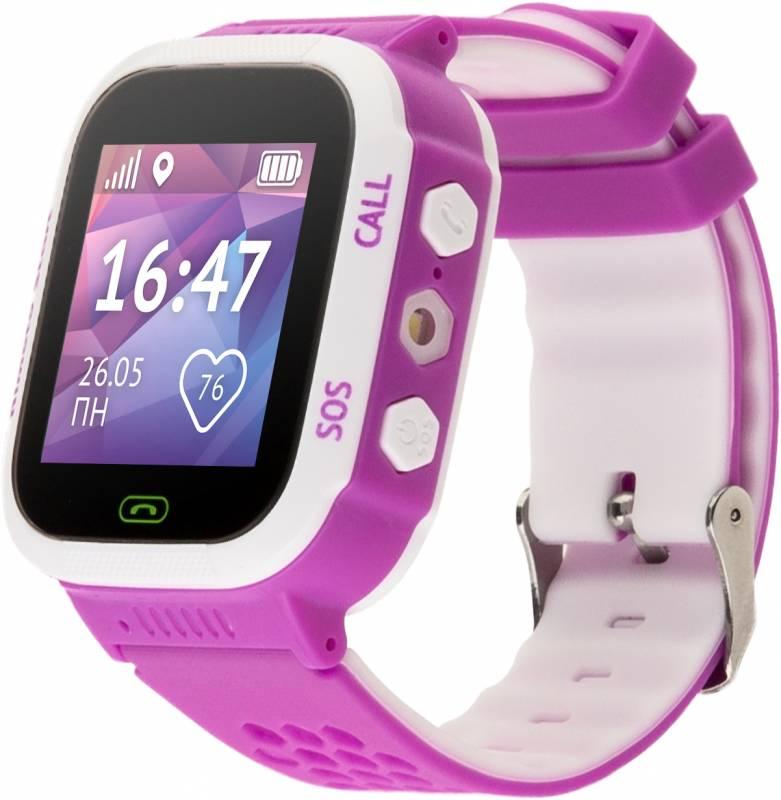 Кнопка жизни Aimoto Start - часы-телефон с GPS (Pink/White)