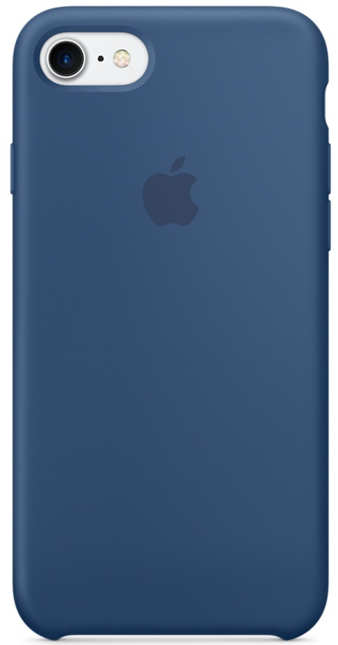 Apple Silicone Case (MMWW2ZM/A) - чехол для iPhone 7 (Ocean Blue)