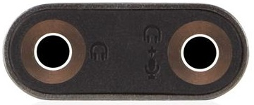 Moshi 3.5mm Audio Jack Splitter (99MO023005) - адаптер-разветвитель (Black)
