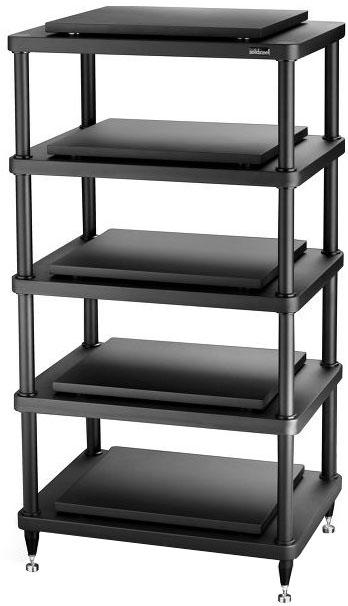 Solidsteel S5-5 - стойка для аудио-видео оборудования (Black)