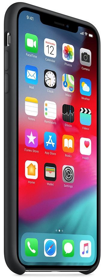 Чехол Apple Silicone (MRWE2ZM/A) для iPhone Xs Max (Black)