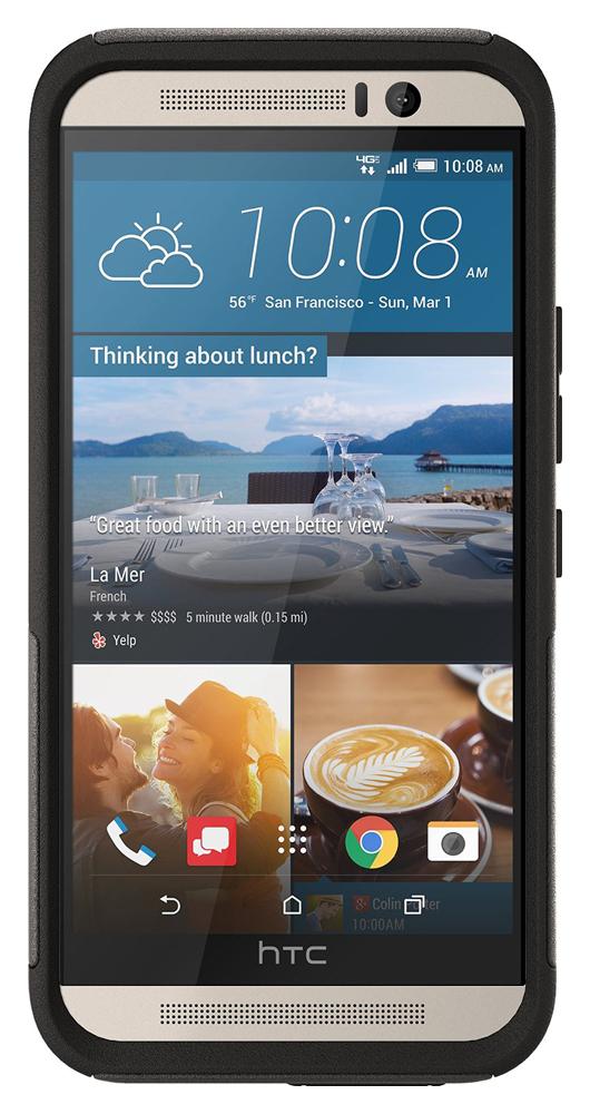 OtterBox Commuter - защитный чехол для HTC One M9 (Black)