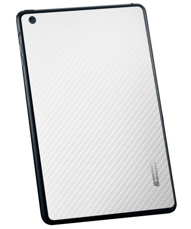 SGP Skin Guard Set (SGP10067) - защитный скин для iPad Mini (Carbon White)