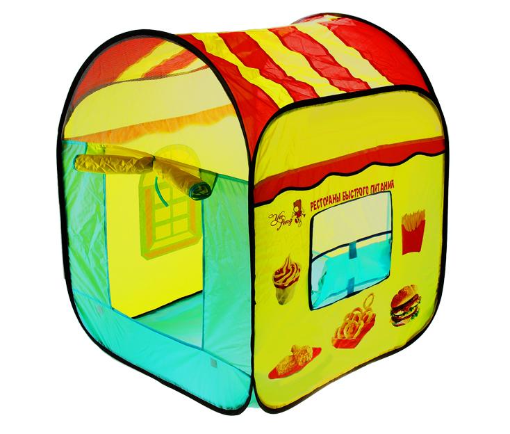 1Toy Ресторан (36 x 36 x 6 см) - надувная палатка (Yellow) Р40999