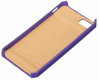 Чехол-накладка Jison Fashion Wallet (JS-IP5-01H50) для iPhone 5/5S/SE (Purple)
