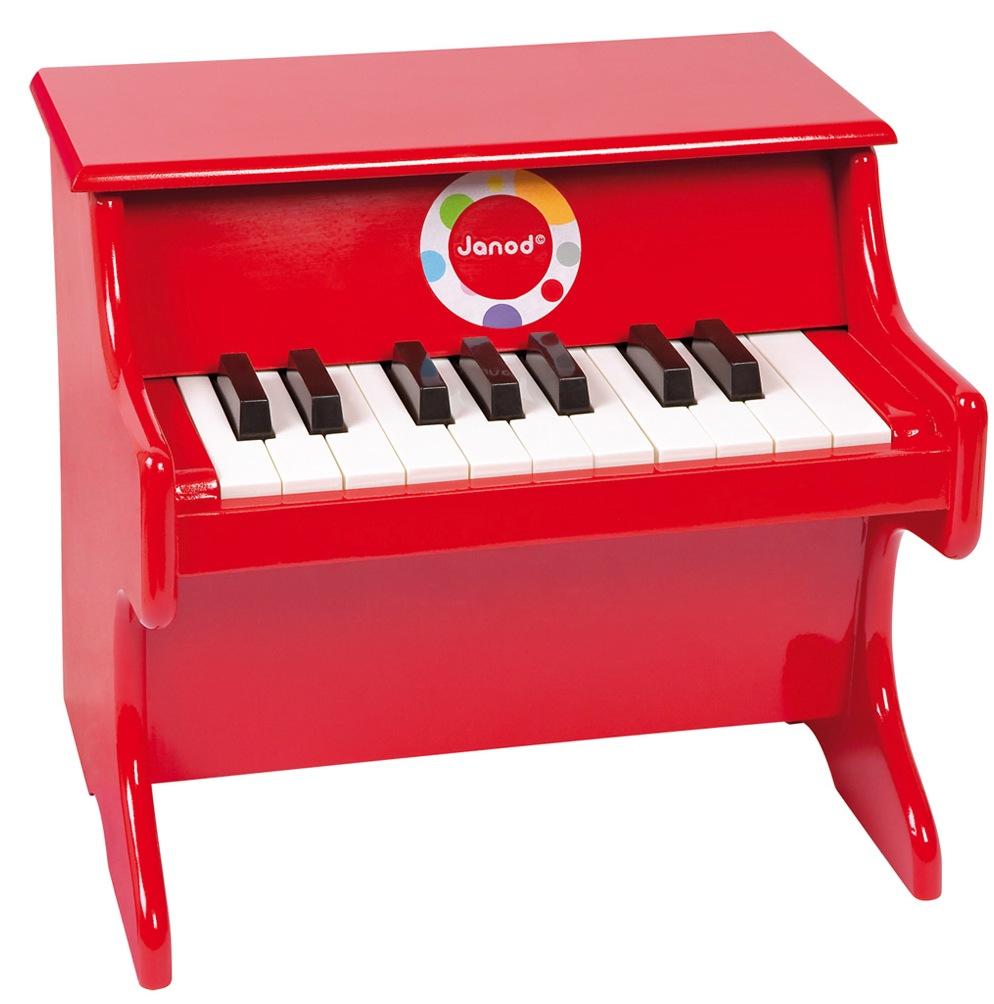 Janod Пианино (J07622) - детский музыкальный инструментРазвивающие игрушки<br>Детский музыкальный инструмент<br>