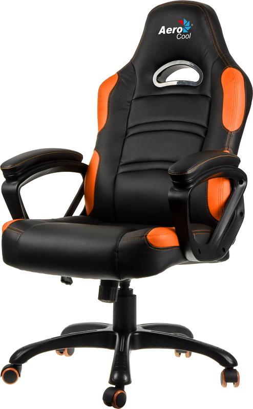 Кресло игровое Aerocool AC80С (Black/Orange)