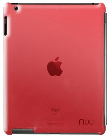 NUU BaseCase - чехол для iPad 2/iPad 3/iPad 4 (Rosso)