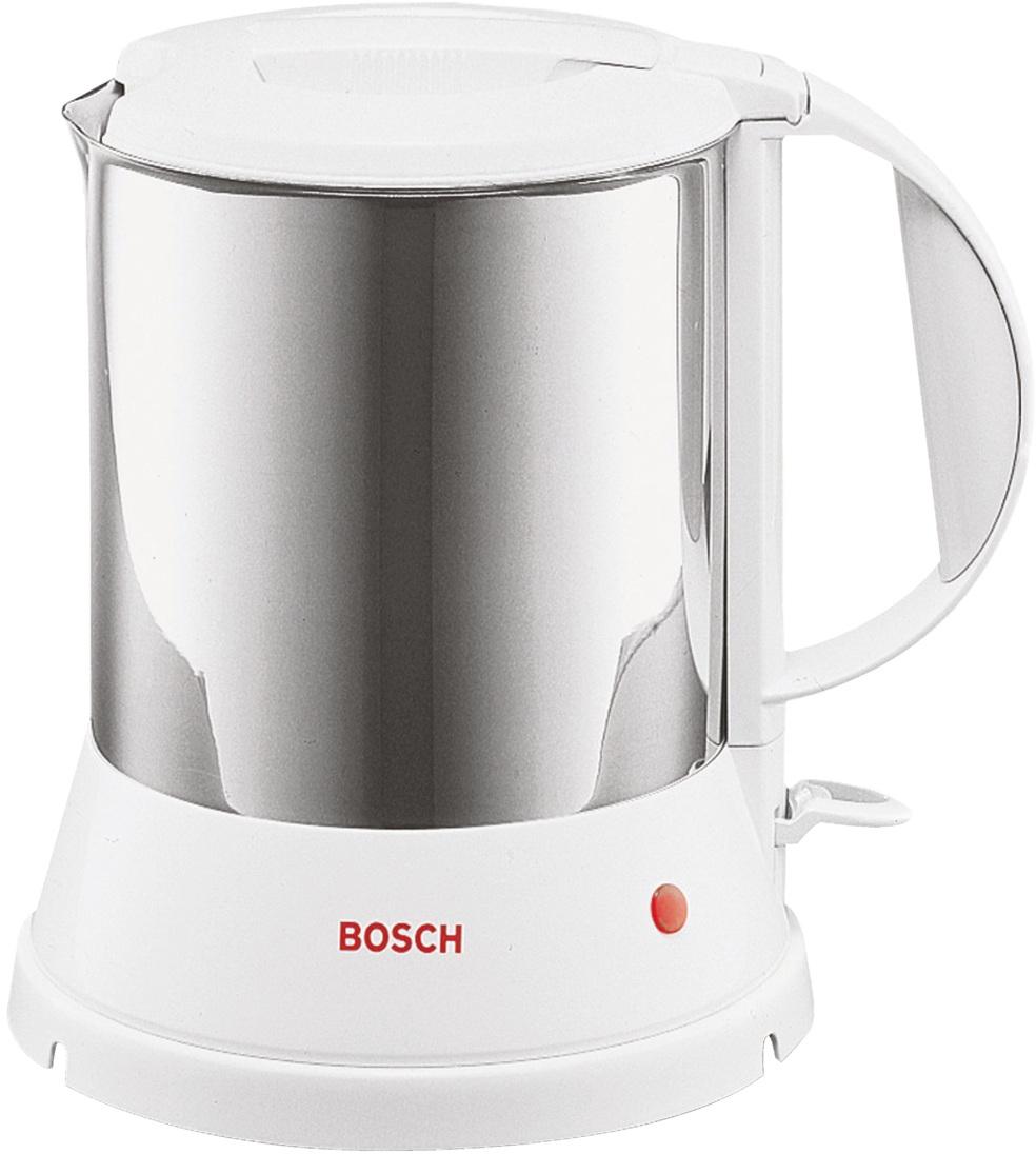 Bosch TWK 1201N - чайник электрический (Stainless Steel)Чайники<br>Электрочайник<br>