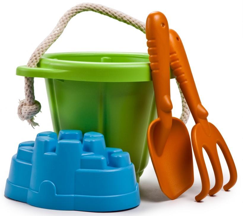 Green Toys 70875 - набор для песочницы (Green)