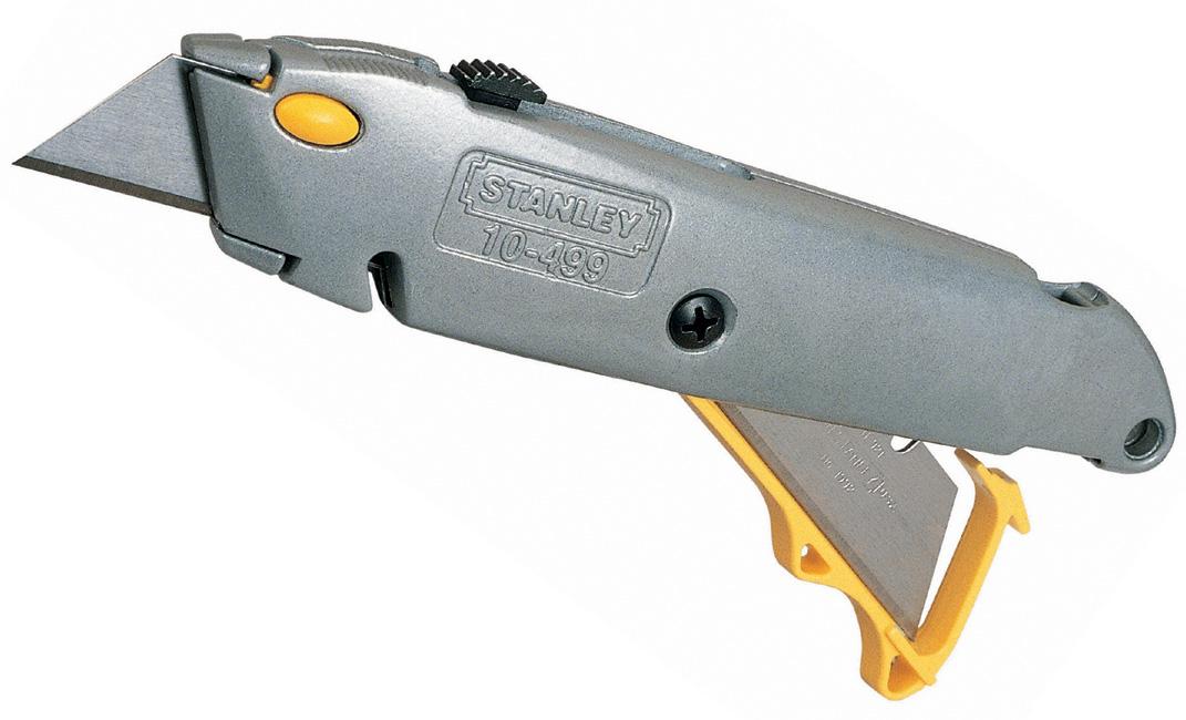Stanley (0-10-499) - нож с фронтальной загрузкой