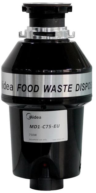 Midea MD 1 C 75 - измельчитель пищевых отходов (Black)