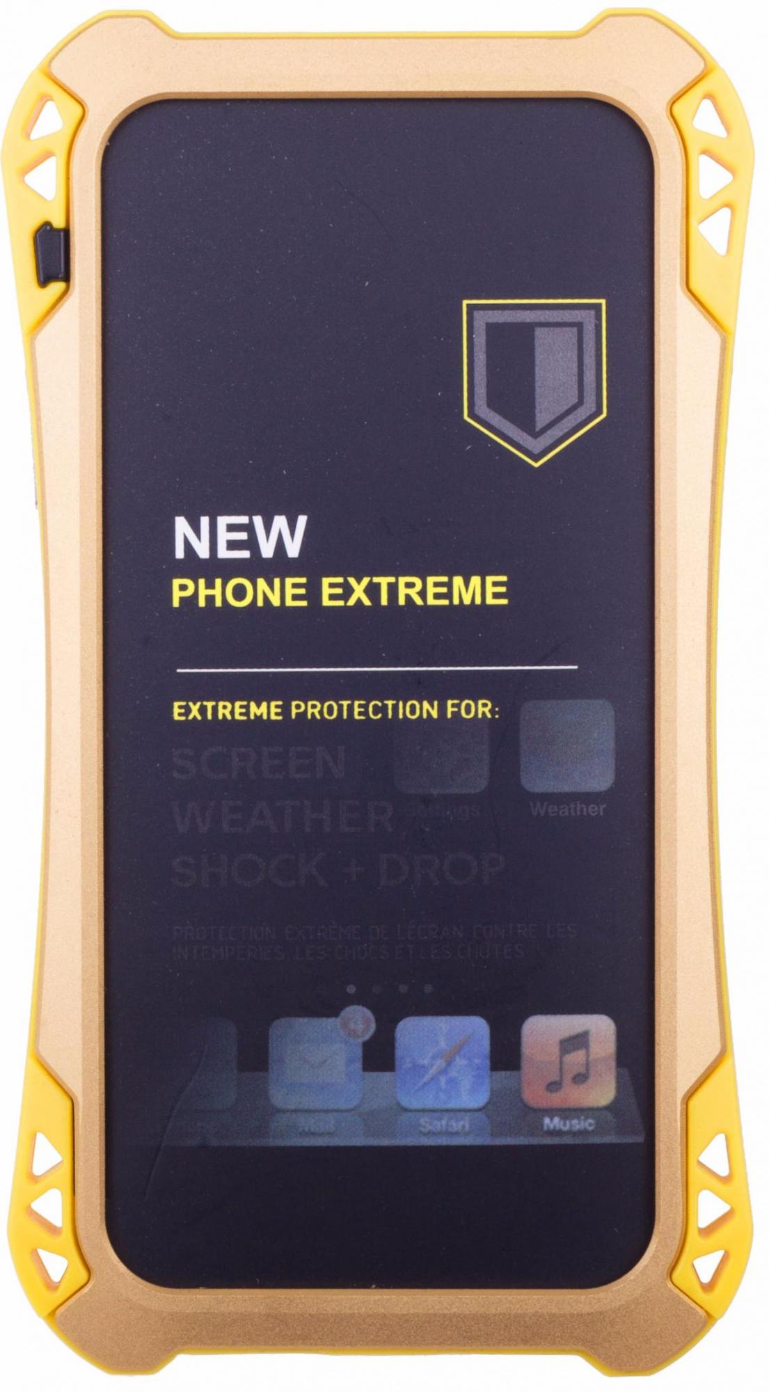 Amira Phone Extreme - защитный чехол для iPhone 6/6S (Gold/Yellow)