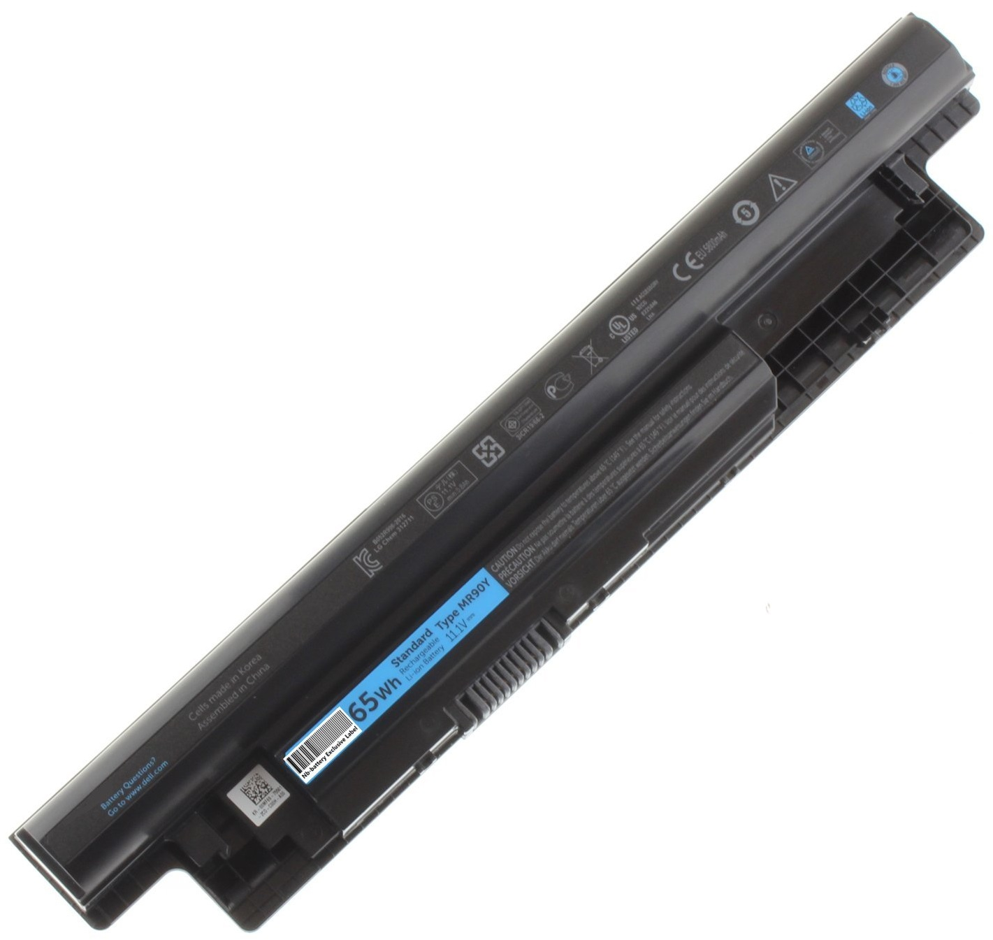 Dell 65W/HR (451-12104) - аккумуляторная батарея для ноутбуков Dell