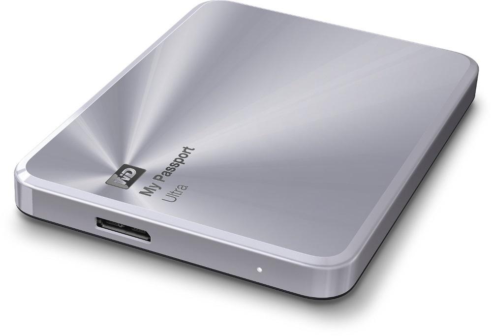 """WD My Passport Ultra Metal Edition 2.5"""" 1TB (WDBW5L0010BSL) - внешний диск (Silver)"""