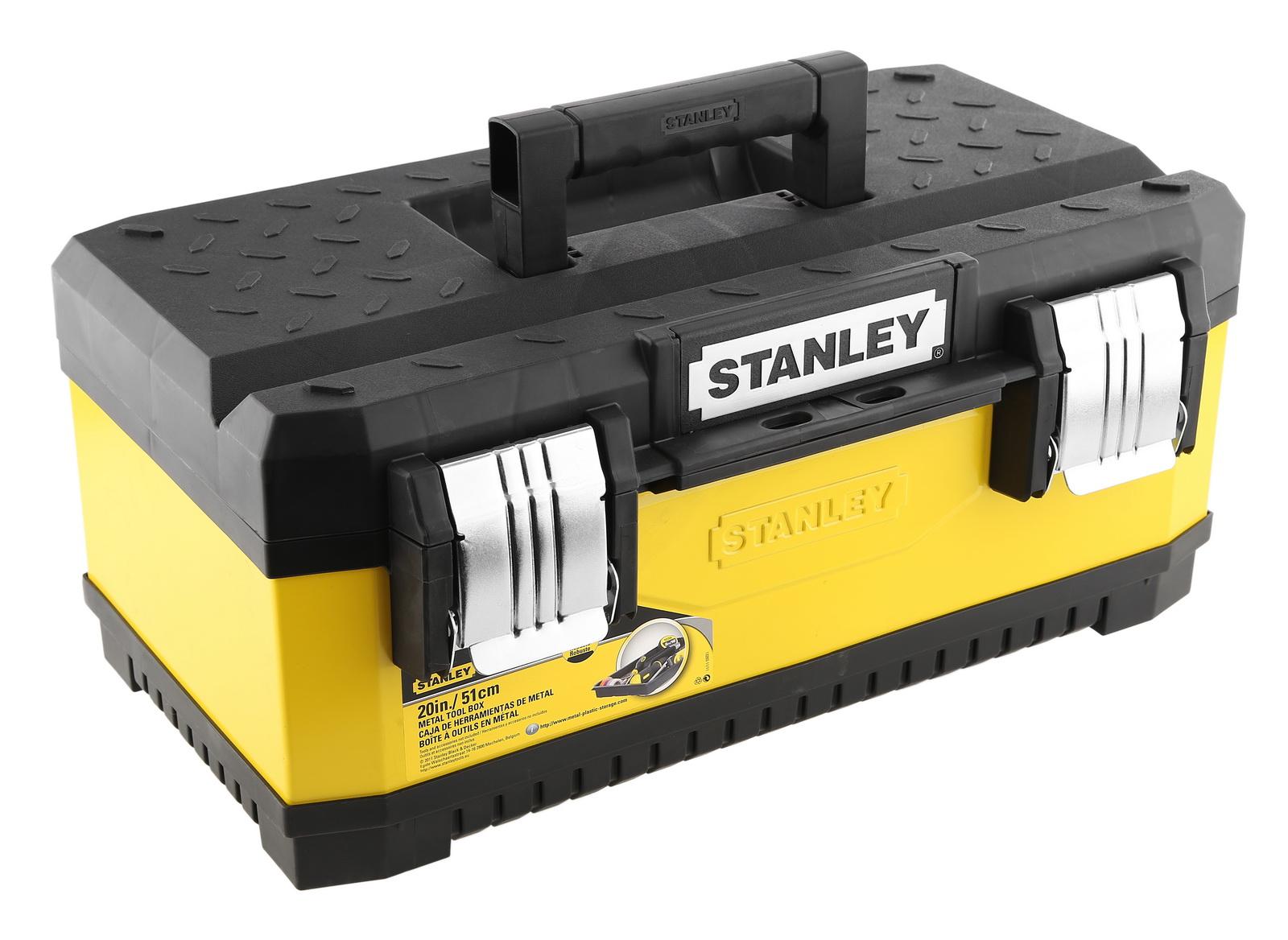 Stanley (1-95-612) - ящик для инструментов 20''  набор из 20 инструментов stanley zipper wallet 1 90 597